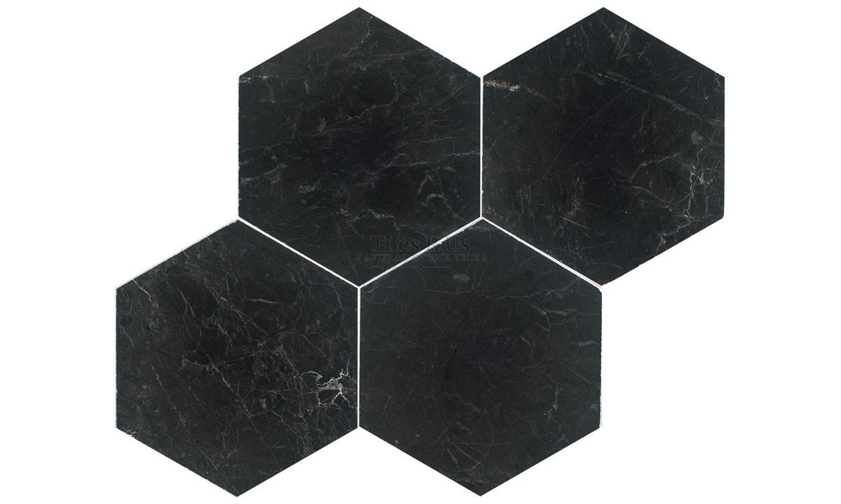 Marble Polished - St Laurent Hexagon (Send Sample)