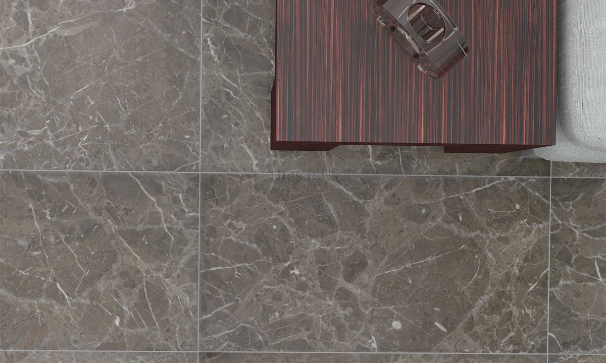 Marble Polished - Savannah Grey 610x610x13mm