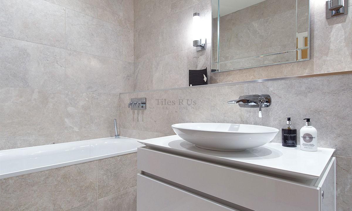 Marble Honed - Platinum 406x610x12mm