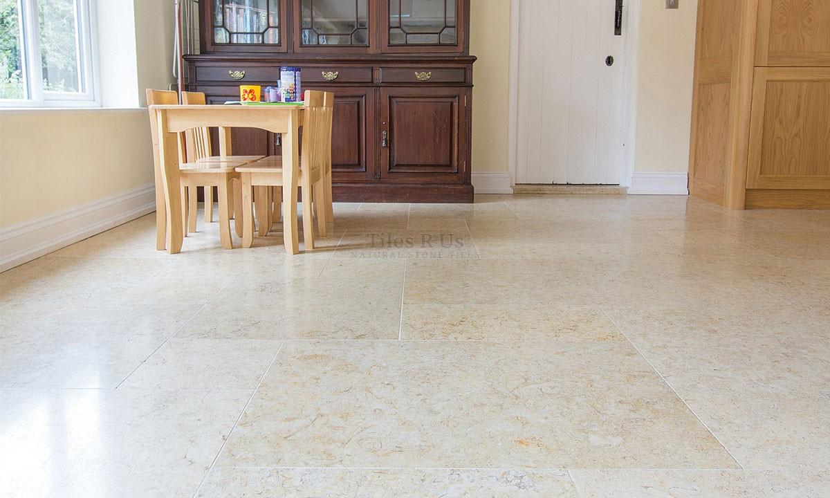 Limestone Tumbled - Salem Gold 400x600x12mm