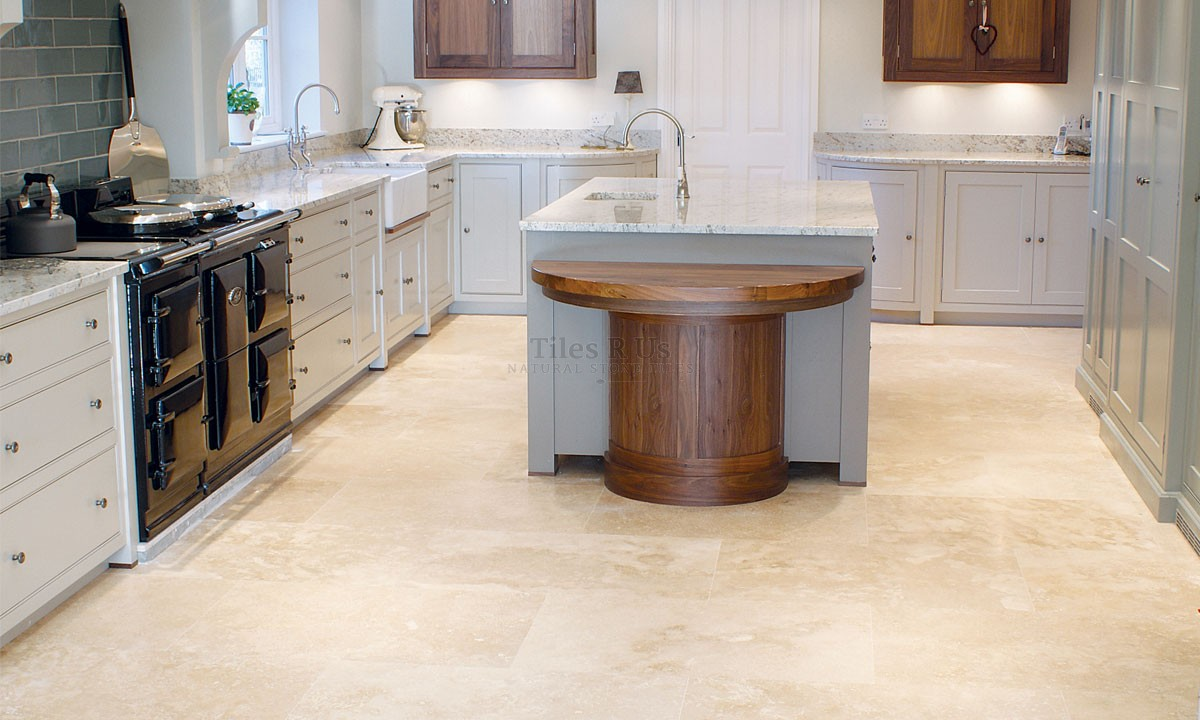 Travertine Honed & Filled - Lydia Classico