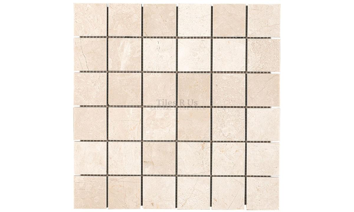Mosaic Marble Select Honed - Crema Marfil 48x48