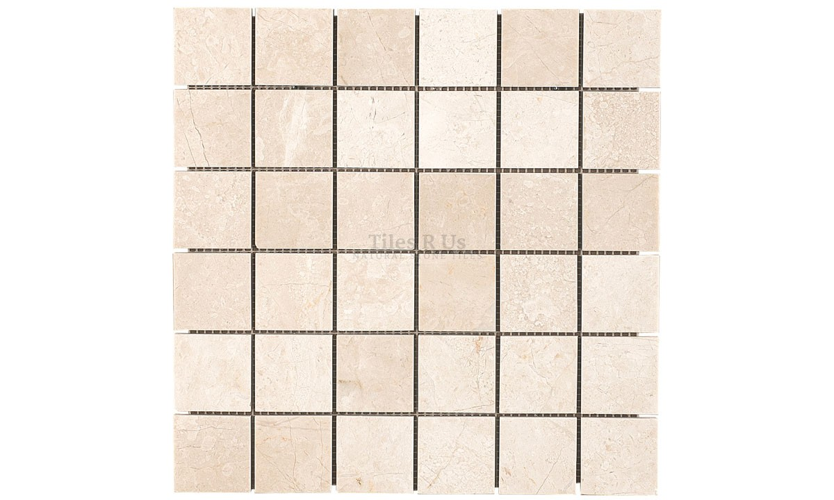 Mosaic Marble Select Polished - Crema Marfil (Send Sample)