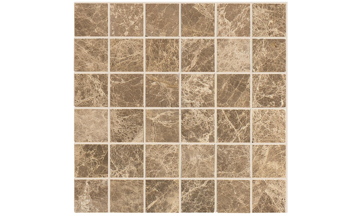 Mosaic Marble Polished - Emperador Light 48x48