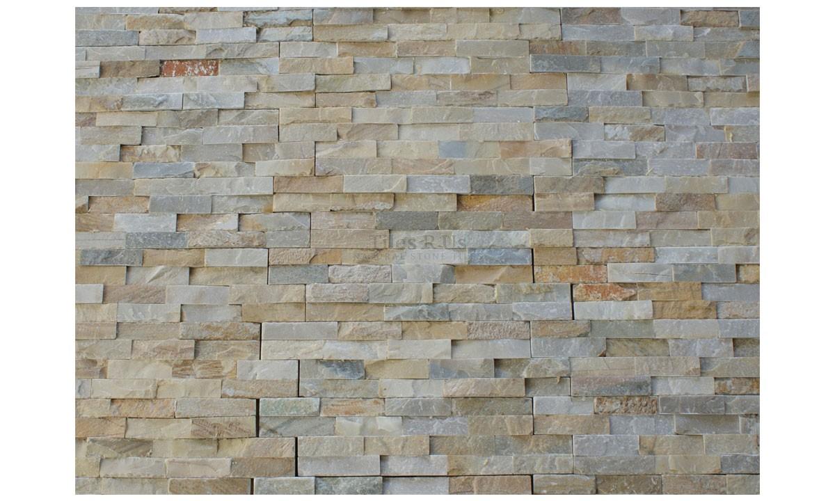 Slate Cladding - White Quartzite Riven