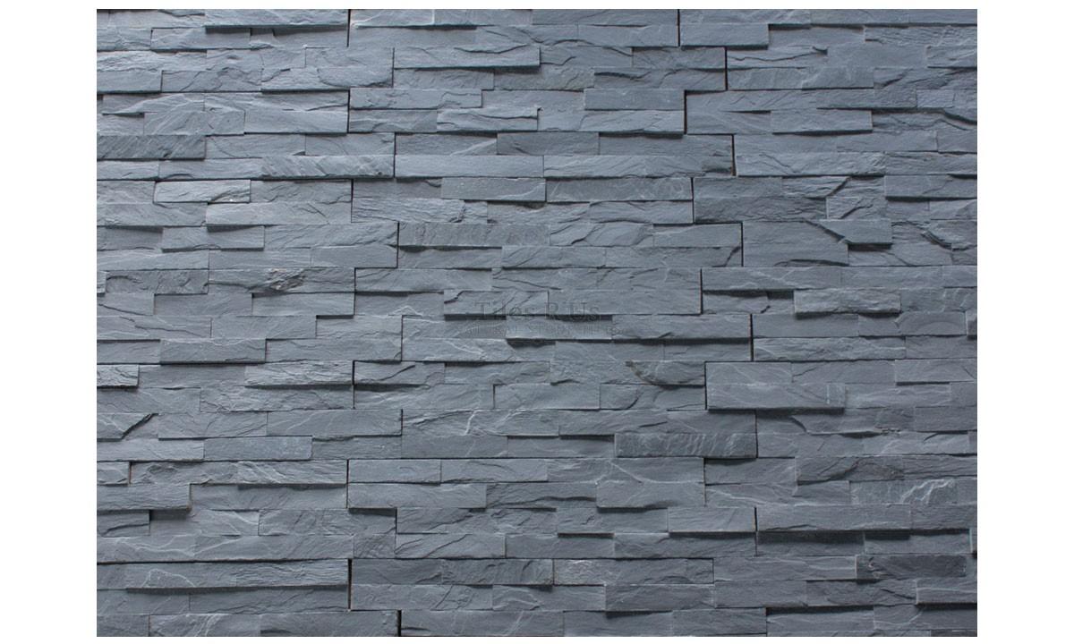 Slate Cladding - Imperial Black Riven (Send Sample)