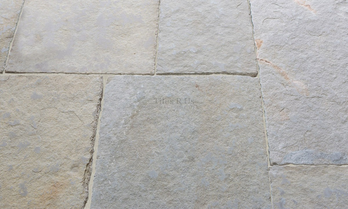 Limestone Tumbled & Distressed - Mystique Yellow 600 x Free Length x 20mm