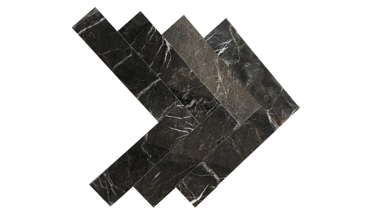Marble Polished - St Laurent Herringbone