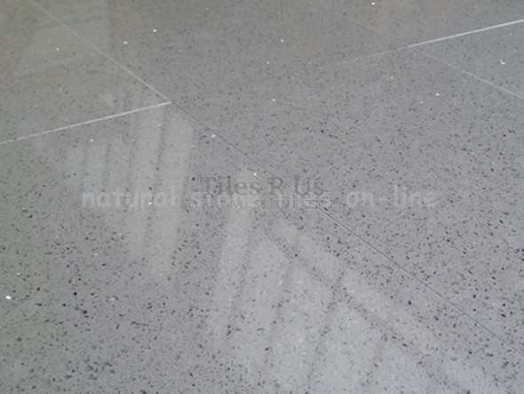 Grey Quartz Polished 600x600x10mm
