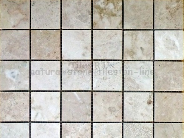 Send Sample Mosaic Marble Polished - Cappucino