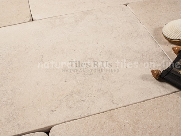 Limestone Tumbled - Moleanos Beige 400x600x20mm