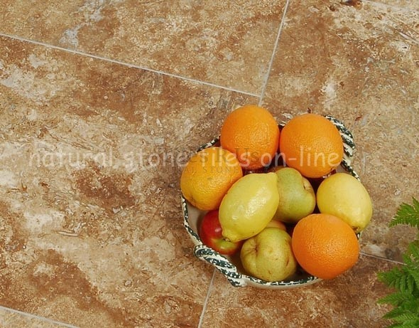 Travertine Honed & Filled Siva Noce - Send Sample