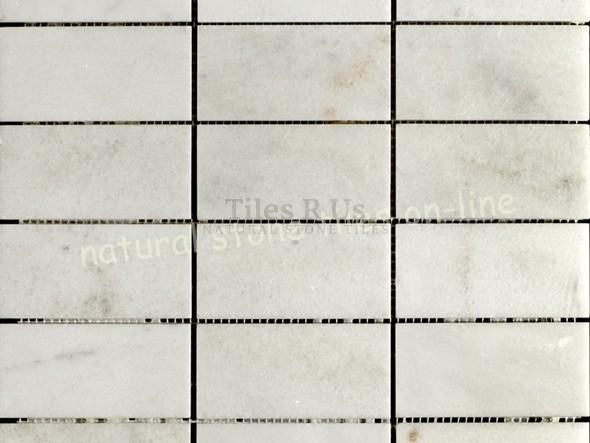 Mosaic Marble Polished - Carrara White 48x48