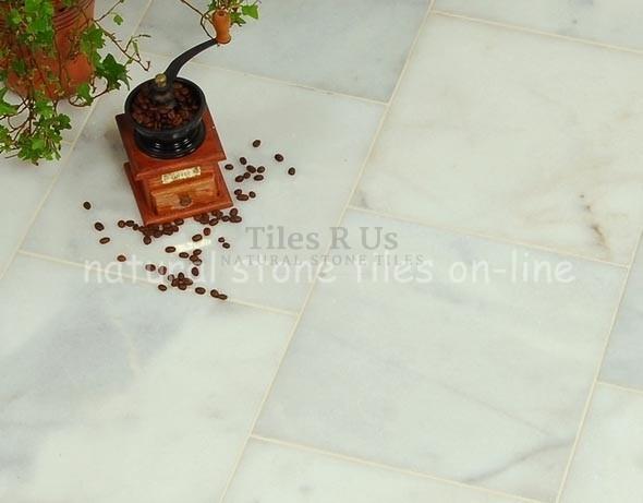 Marble Polished - Carrara White 600x600x20mm