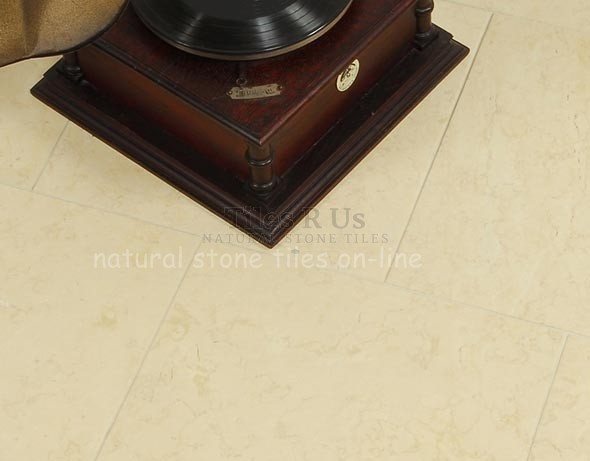 Limestone Brushed - Desert Creme 400x600x12mm