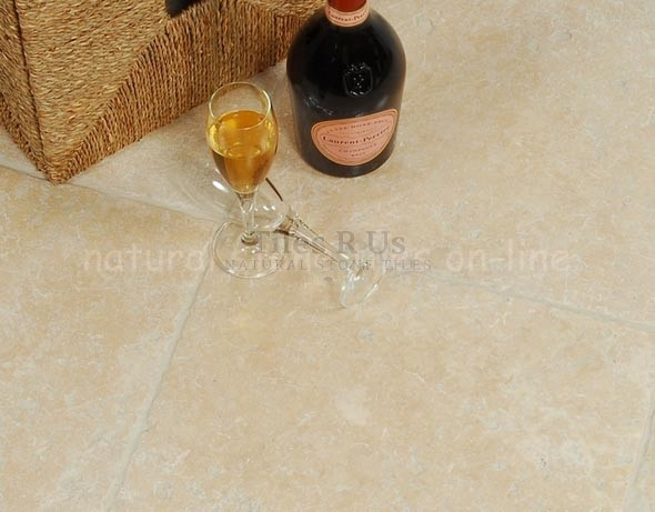 Travertine Tumbled - Lydia Classico Opus Franco Pattern