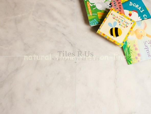 Marble Honed - Carrara White