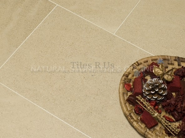 Limestone Brushed - French Beaumaniere 400mm x Free Length x 15mm