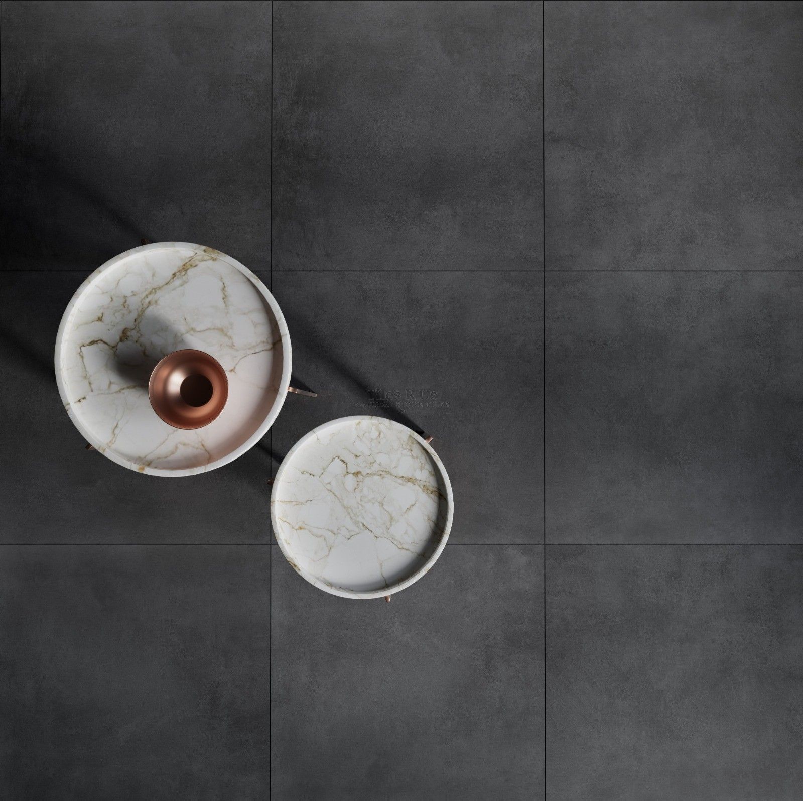 Chaldean Black (Rectified) Matt Porcelain
