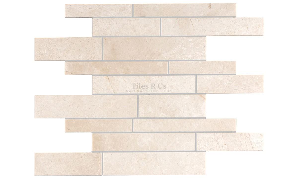 Mosaic Marble Polished - Crema Marfil Select Random