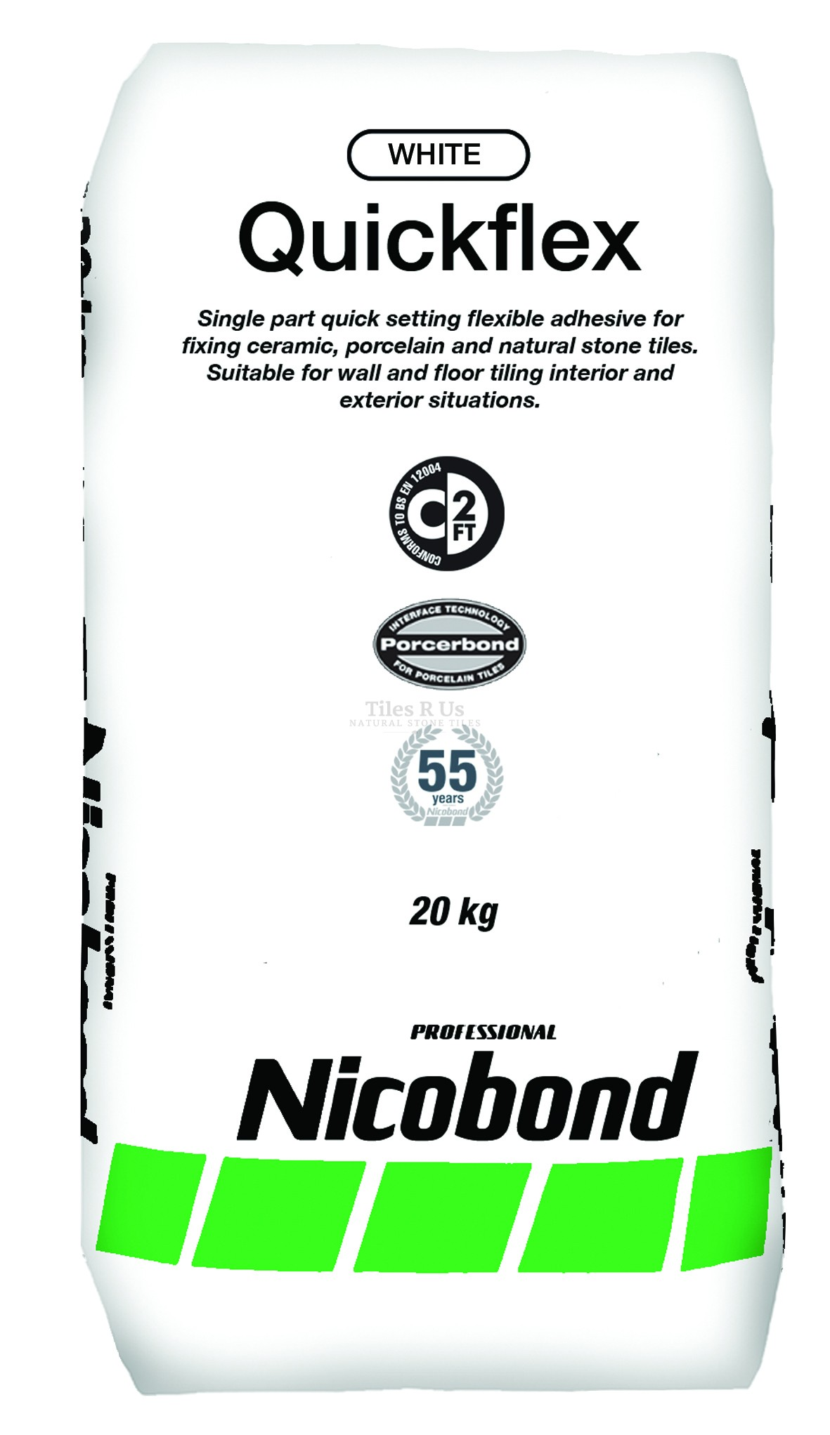 Nicobond Flexible Rapid Set Tile Adhesive