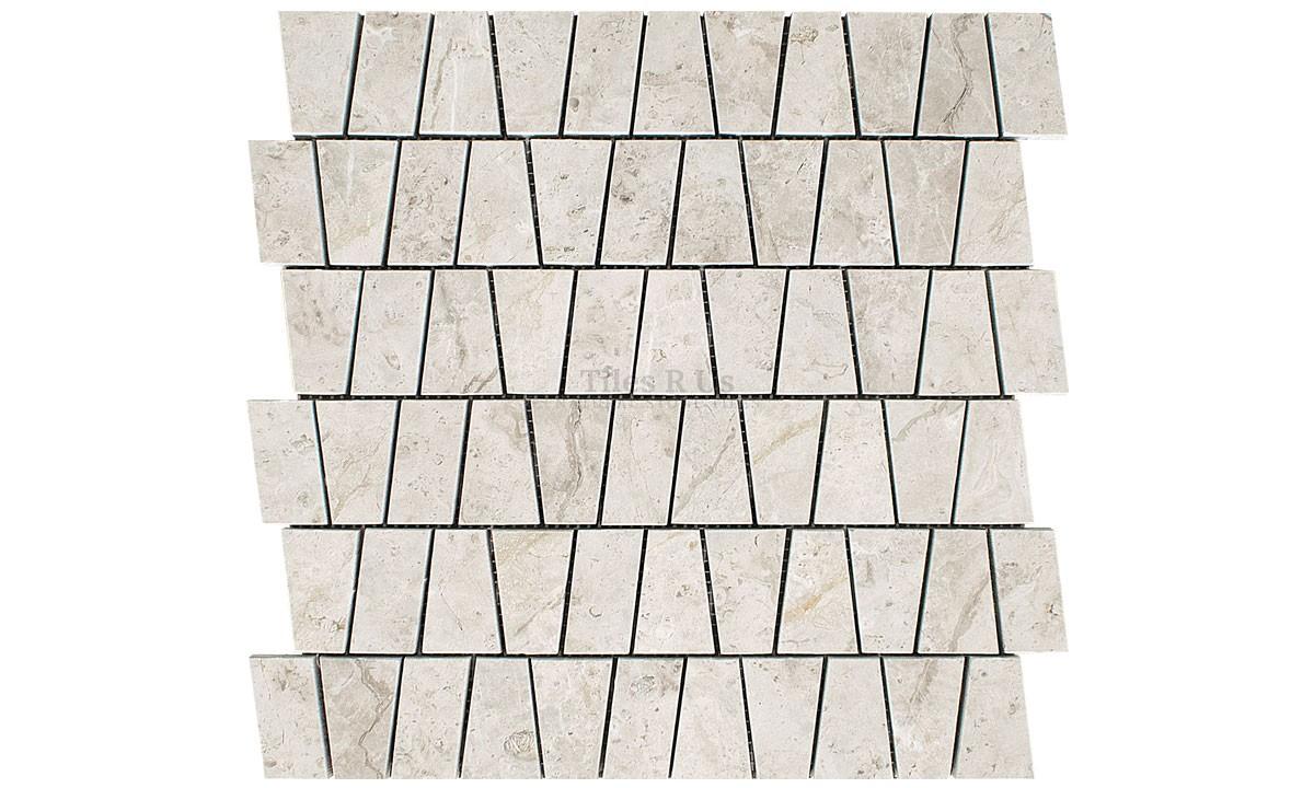 Mosaic Marble Honed - Silver Light Kensington
