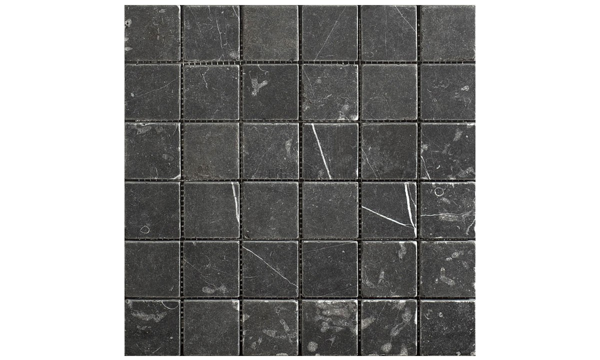 Mosaic Marble Tumbled - Taurus Nero (Send Sample)