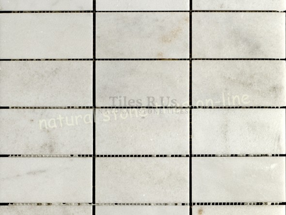 Mosaic Marble Honed - Carrara White