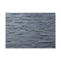Slate Cladding - Imperial Black Riven
