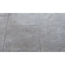 Limestone Tumbled & Sawn Free Length - Dust Grey