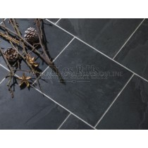 Slate Riven Calibrated - Brazilian Black - External