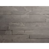 Riven Slate Strips - Brazilian Black