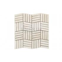 Mosaic Marble Honed - Crema Marfil Battersea