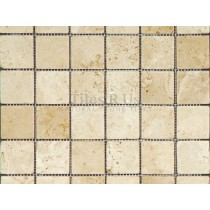 Mosaic Travertine - Tumbled Lydia Classico