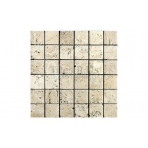 Travertine Tumbled Mosaic - Lydia Antique (Send Sample)