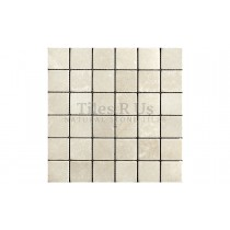 Marble Tumbled Mosaic - Olympus Creme (Send Sample)