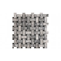 Mosaic Marble Polished - Silver Moon Basketweave