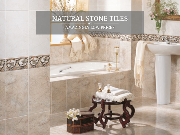 Natural Stone Tiles at Amazingly Low Prices